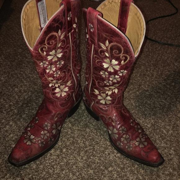 c78de3c69bf Ladies Shyanne Snip Toe Western Boots